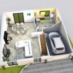 Maison - Investissement locatif Colocation Juvisy-sur-Orge - 4 colocataires -  Rendement 3.72 % - 370108 €FAI - Loyer net garanti 1146.6 €